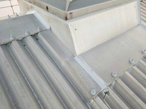 工場での雨漏り屋根修繕