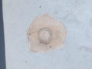 マンション天井の雨漏り修繕