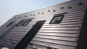 マンション屋根雨漏り修繕